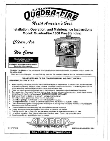 country hearth wood stove manual
