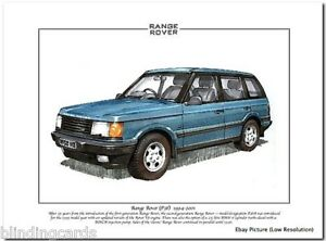 range rover p38 owners manual