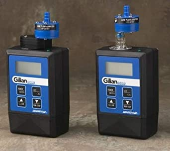 gilian air sampling pumps manual