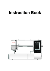 janome memory craft 10000 manual